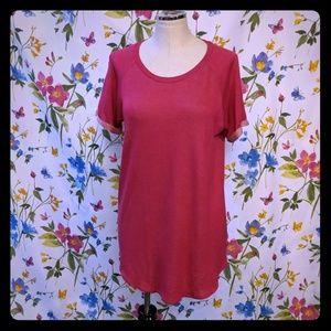 Celebrity Pink long soft tea shirt tunic dress M
